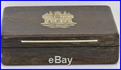 $15000 antique 19th Century Ottoman 9k gold&10ct Rose Cut Diamonds Brooch. Boxed