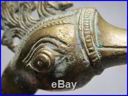 15th-17th C. Ewer Mughal Aquamanile Goose Deccan Islamic Persian Aftaba Dullah