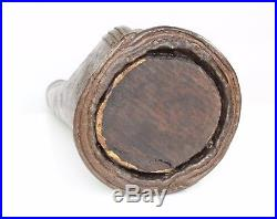 16th Century Ottoman Leather Matara Water Flask