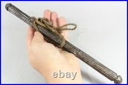 17th / 18th Century Indo Persian Steel Divit Pen / Brush Holder Case
