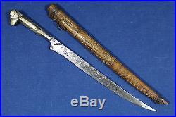 1800's antique kabyle algerian flyssa (flissa) dagger Algeria