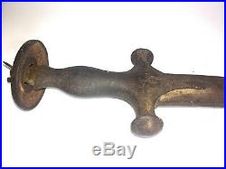 1800s Talwar/Tulwar Sword Indo-Persian Hand Forged-Relic- Rusted-real Antique