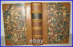 1853 Antique Book Ancient Ruins Nineveh Iraq Arabs Persia Christian History