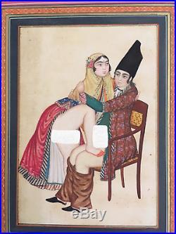 19th century Persian miniature Qajar dynasty