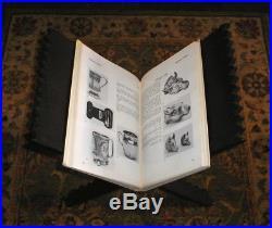 19th century carved rihal quran koran book stand antique hardwood lectern rehal