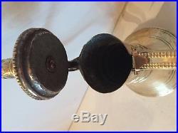 33 cm NIZWA Brass Antique Dallah islamic art Coffee Pot Bedouin fine pattern