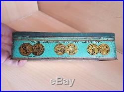 35# Old Tin Box Regie of Tobacco of the Ottoman Empire Constantinople Cigarettes