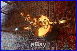 53,5 cm BIG Very Antique MUSCAT Original Dallah Coffee Pot Middle East Bedouin