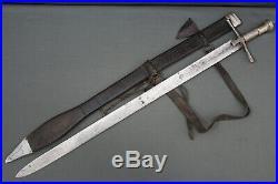 A Sudanese Kaskara sword Sudan, 1st half 20th century
