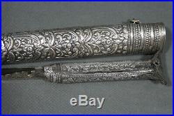 A fine Ottoman bichaq dagger with wootz blade Ottoman empire, 19th century
