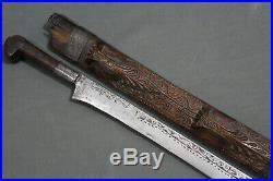 A fine flissa (flyssa) sword (sabre) Algeria, 19th century