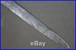 A long Tuareg dagger called telek Maghreb, Sahara, 19th 1st half 20th century