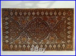 ANTIQUE ANGLO INDIAN PERSIAN STEEL INLAID KOFTGARI DAMASCENE BOX LATE 19th CENT