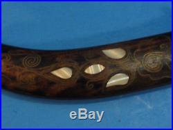 ANTIQUE Middle Eastern Dagger Mother Of Pearl Inlay