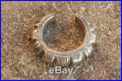 ANTIQUE OMANI SILVER BRACELET CUFF BANGLE OMAN Muscat authentic jewelry tribal