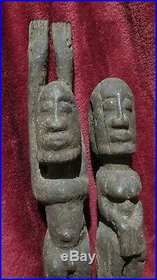 African Art Tellem Statue Dogon 19thC. MALI RAIN ANTIQUE AFRICA