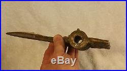 Ancient 8 Bronze AX Head Original Battle Weapon Patina 17-19th Century