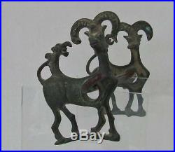 Ancient Luristan Bronze Horse Bit Chariot Circa 9 century B. C to sword collector