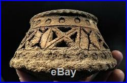 Ancient Middle Eastern Terracotta Vessel Turkey 1200 AD or Older