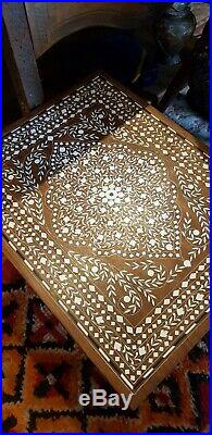 Anglo Indian Inlay Side Table
