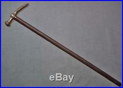 Antique 16th -18th century Turkish Ottoman Islamic War Hammer to sword shamshir