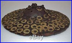 Antique 17 Century Turkish Ottoman Islamic Shield Buckler Kalkan armor to sword