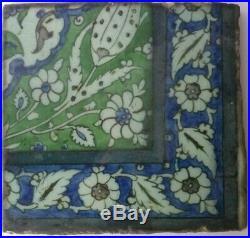 Antique 17th Century Damascus tile
