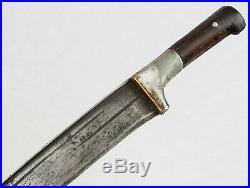 Antique Afghan Khyber Knife Straigh Blade Islamic sword dagger messer 18/1