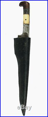 Antique Afghan Khyber Knife Straigh Blade Islamic sword dagger messer 18/13