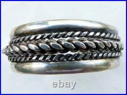 Antique Bedouin Silver Bracelet, Siwa Oasis Style Bracelet, Cuff Bracelet