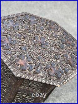 Antique Carved Moorish Table