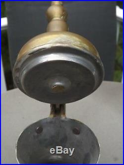 Antique Dallah Coffee Tea Pot Brass Copper Turkish Arab Islamic Ewer Kettle