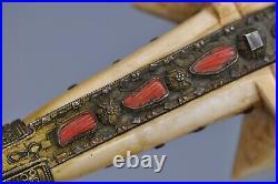 Antique Early 19th Century Turkish Sword Yataghan Ottoman Yatagan
