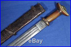 Antique Ethiopian gurade sword with very interesting handle 19th
