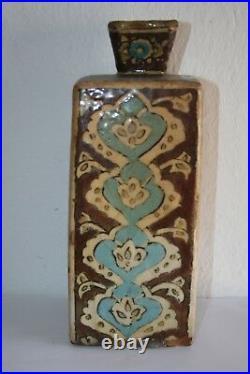 Antique Hand Made Persian Ceramic Vase 1800