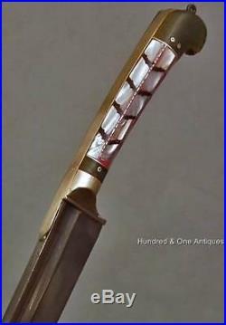 Antique Indo Persian Islamic Dagger Pesh Kabz Knife India 19th Century not sword