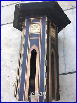 Antique Inlaid Islamic Side Table
