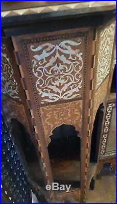 Antique Islamic Middle Eastern Inay Cabinet