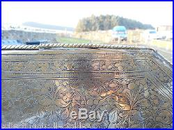 Antique Islamic/ Middle Eastern Ornate Tray / Wall Hanging