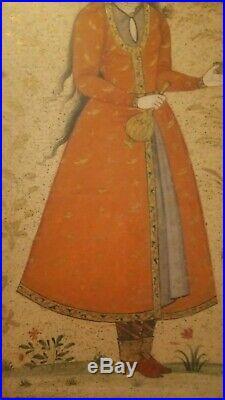 Antique Islamic Persian Painting Miniature