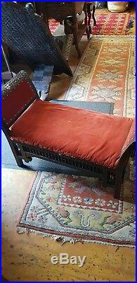 Antique Islamic Syrian Side Bench