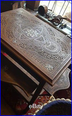 Antique Islamic Syrian side table
