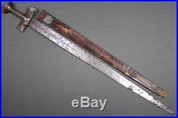 Antique Islamic Tuareg takuba sword (sabre) North Africa late 19th Early 20th