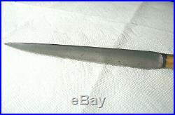Antique MIDDLE EASTERN Yatagan Wootz BICHAQ KHYBER Turkish KNIFE SHEATH Dagger