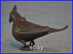 Antique Medieval Fatimid Bronze Perfume Flask Egypt 10th-12th Century 288-494 AH