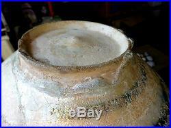 Antique Medieval Islamic Pottery Kashan Sultanabad Fritware Bowl Seljuk