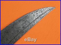 Antique Middle East Islamic Turkish Shamshir Pala Kilij Sword with Scabbard