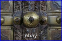 Antique Middle Eastern Wooden Door / Window Beautifully Carved Highly Decorative