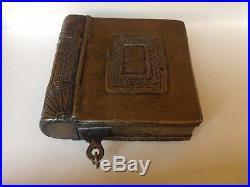Antique Moroccan Berber Copper Silver Metal Prayer Amulet Box
