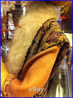 Antique Orientalist Arab Ottoman Sultan Doll Puppet Elmassian Paris
